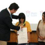 Paola Chuc recibe reconocimiento por parte de la Municipalidad de Guatemala